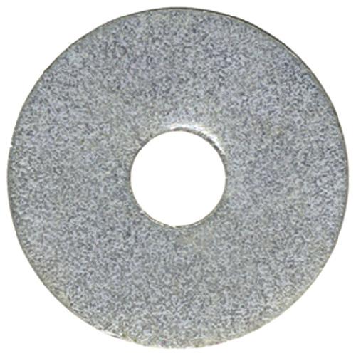 """Rondelle pare-choc en acier, 5/16"""" x 1"""", boîte de 50, zinc"""