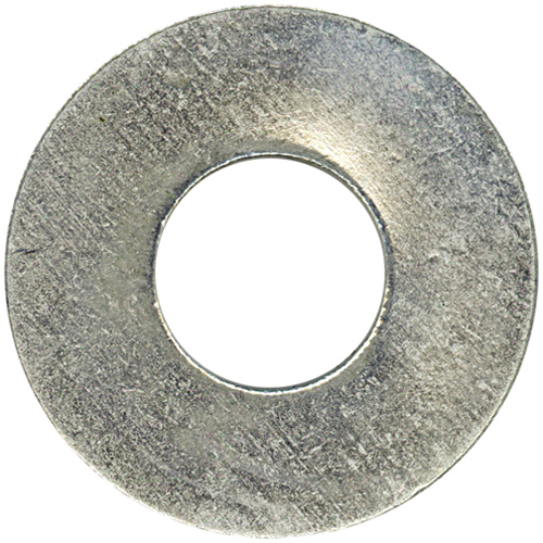 """Rondelles plates en acier, 5/16"""", boîte de 96, fini zinc"""