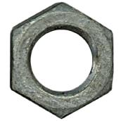 "Hex Nuts - 1/2""-13 - Box of 25 - Galvanized Steel"