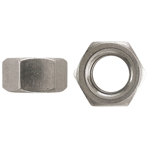 "Hex Nuts - 3/8""-16 - Box of 50 - Stainless Steel"