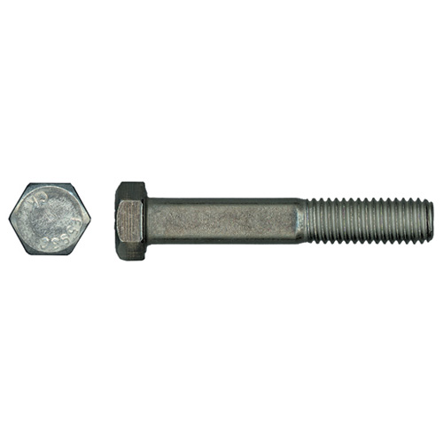 "Hex Head Bolts - Stainless Steel - 3/8"" x 2 1/2"" - Box of 25"