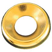 Brass Finishing Washer - Counter Sink - #10 - Box of 100