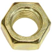 Hex Nuts for Machine Screws - #8-32 - Box of 100 - Brass