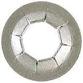 "Push Nut - Steel - 1/4"" - Box of 100"