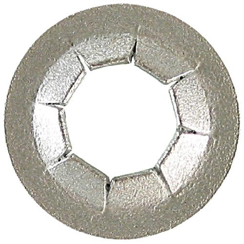 Precision Push Nut - Steel - 1/8 - Box of 100 242-406