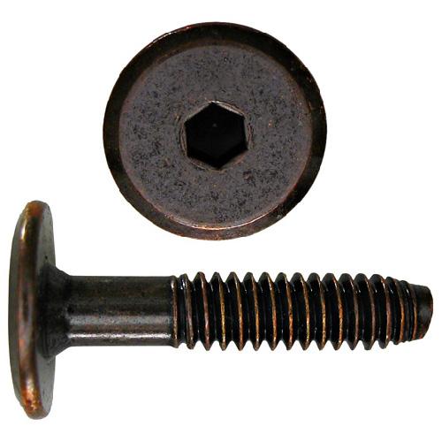 """Boulons d'assemblage, 1/4""""-20 X 1 3/16"""", acier, bronze antique, 25/pq"""