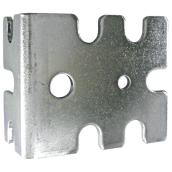 "Steel Shelf Bracket - 2"" x 1"" x 1 5/8"" - 10-Pack"