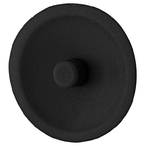 Loxxon Square Drive Screw Cap Covers - #1 - Black - 100/Box