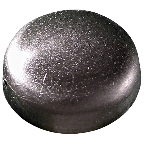Plastic Screw Cap Covers - #6-#8 - Black - 100/Box