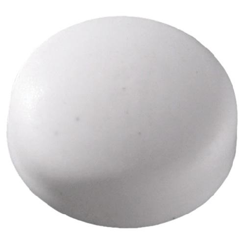 Plastic Screw Cap Covers - #6-#8 - White - 100/Box