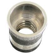 Écrou de serrage, #8-32, 25/bte, aluminium