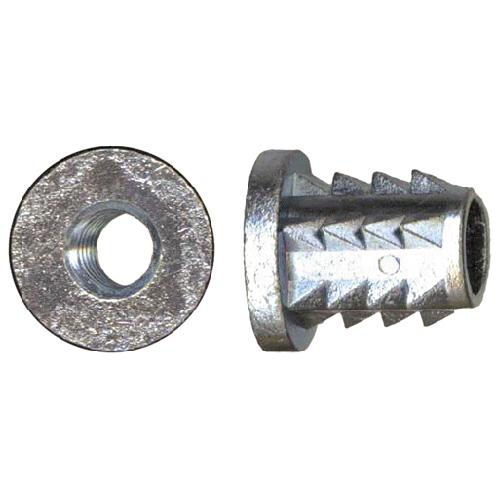 """Écrou à rebords, 1/4""""-20 x 13 mm, 15/bte, acier"""