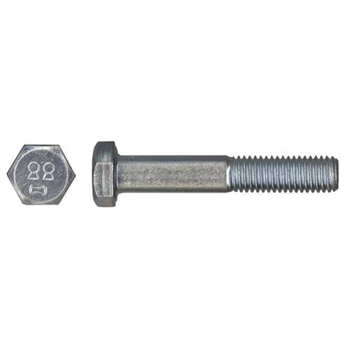 Precision Hex Head Metric Bolts - M10 x 35mm - Grade 5 - 100 Per Pack - Zinc Plated - Carbon Steel