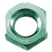 Écrous hexagonaux en acier, M10, boîte de 25, zinc