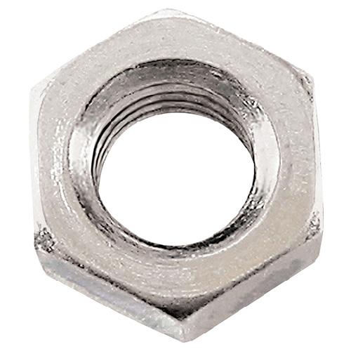Écrous hexagonaux en acier, M16, boîte de 25, zinc