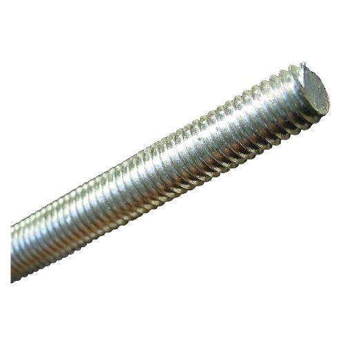 """Tige cylindrique filetée, 6-32 x 12"""", acier zingué"""