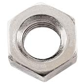 Écrous hexagonaux en acier,  #10-24, paquet de 10, zinc