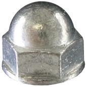 """Acorn Nut - 1/4"""" - 2/Pack - Zinc"""