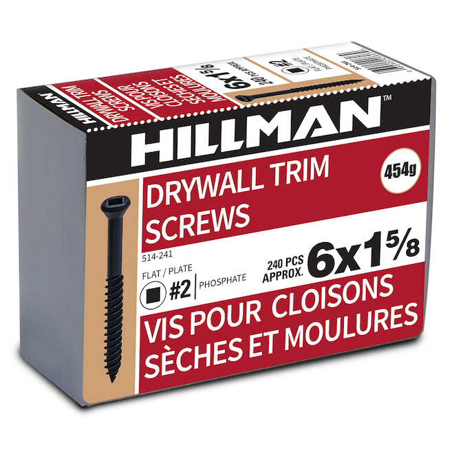 """1 5/8"""" #6 Screws with Self-Tapping Thread and Socket Head"""