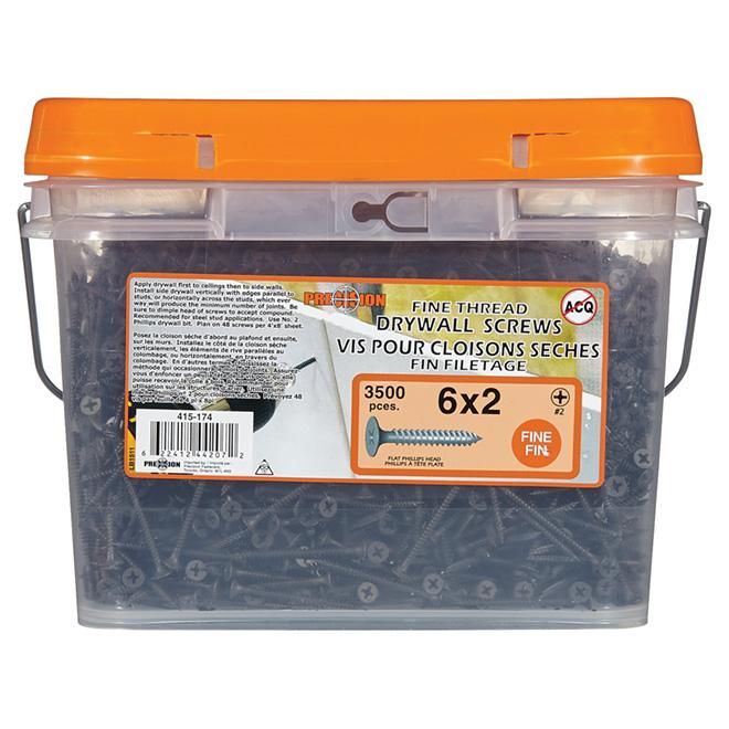 Drywall Screws - Fine Thread - 3500/Box