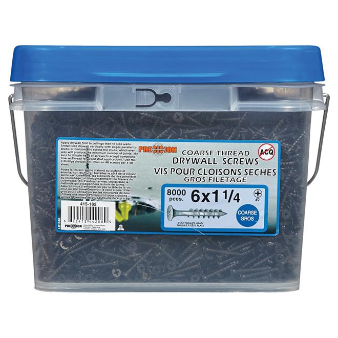 Drywall Screws - Coarse Thread - 8000/Box