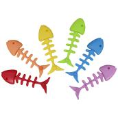 Fishbone Pool Diving Toy Figurines - Assorted