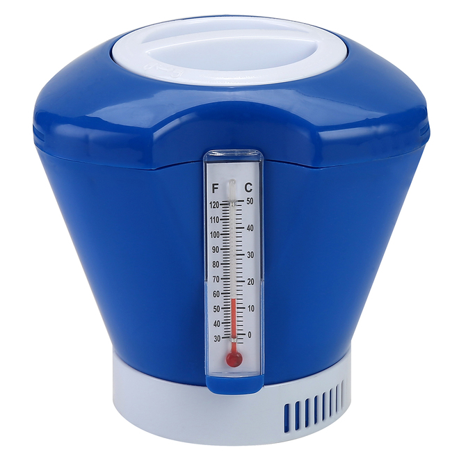 CPA Chlorine Dispenser with Thermometer - Blue