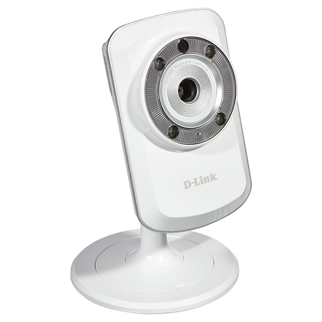 Caméra de sécurité, sans fil/Ethernet, son/mouvement