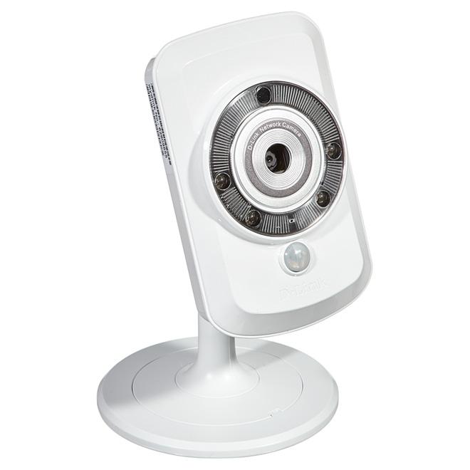 Caméra de sécurité, sans fil/Ethernet, mouvement