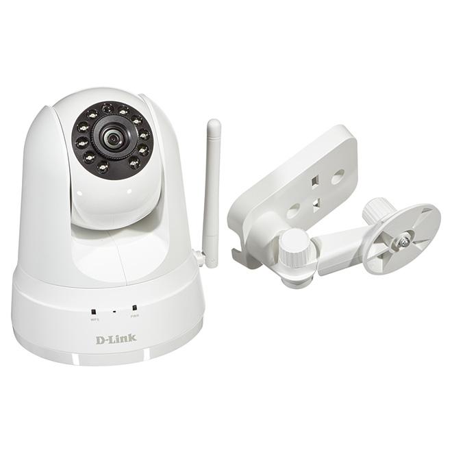 Caméra de sécurité sans fil/Ethernet,panoramique/inclinable