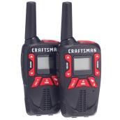 Radios bidirectionnelles rechargeables, pqt/2