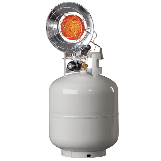 Tank Top Portable Heater - 8000-15,000 BTU