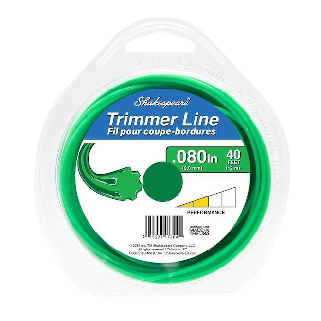 Shakespeare Universal Trimmer Line - 0.08-in x 40-ft - Green