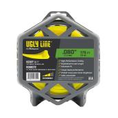 Shakespeare - Ugly Line Tri-Edge Trimmer Line - 0.08-in x 175-ft