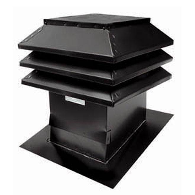 """Ventilateur de toit en pente 12"""" x 12"""" gris"""