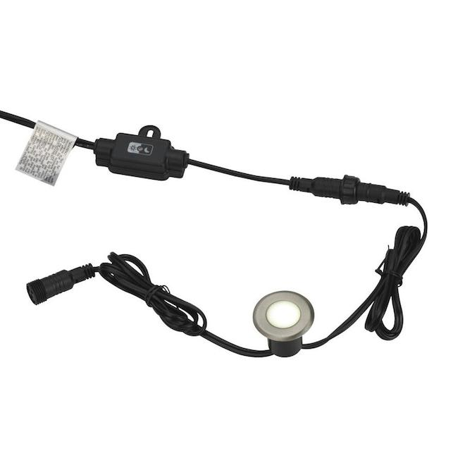 Vision Home Set of 8 Dimmable LED Deck and Stair Light Fixture
