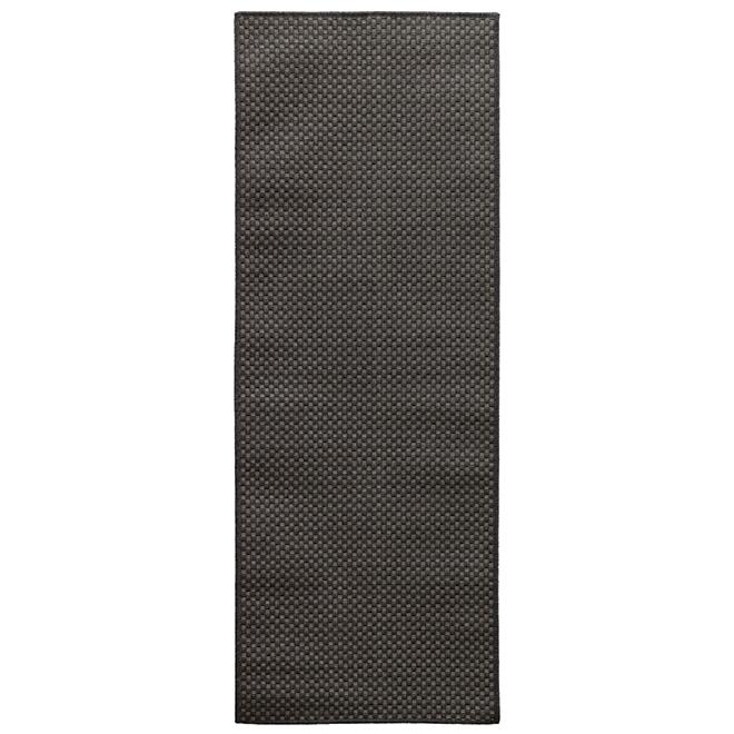 """Carpette décorative, 26"""" X 60"""", polypropylène, gris"""
