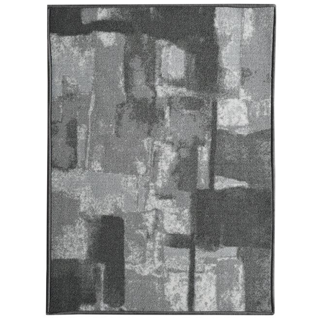 Runner Carpet Lyra - Polyester - 26'' x 98'' - Grey