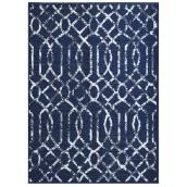 """Mat - 26"""" x 35"""" - Polyester - Electro - Polyester - Blue"""