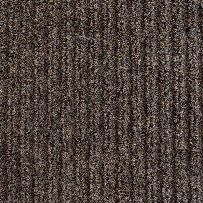 "Tapis utilitaire, 72"" x 82', Siamese, polypropylène, brun"