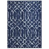 """Mat - 26"""" x 59"""" - Polyester - Electro - Polyester - Blue"""