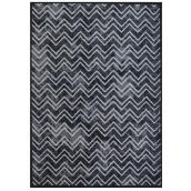"Carpet Runner  - 26"" x 98' - Bastille - Polyester - Black"