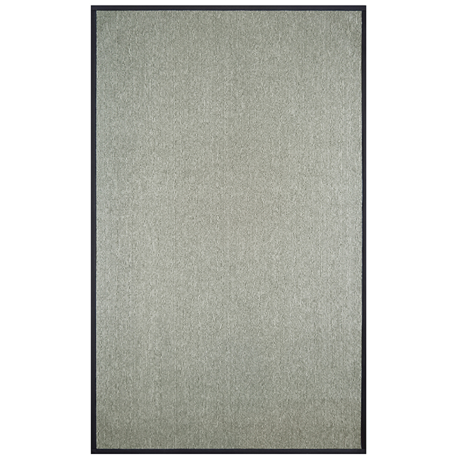 ''Sisal'' Indoor Decorative Carpet - 8' x 10' - Grey