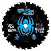 Spyder Circular Saw Tungsten Carbide Blade - 7.25-in 24 Teeth