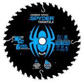 Spyder Fine Cut Saw Blade for Circular Saw in Carbide Tunsten - 7.25-in 40 Teeth