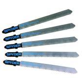 Ensemble de lames pour scie sauteuse queue en T bi-métal Spyder, 5 pièces