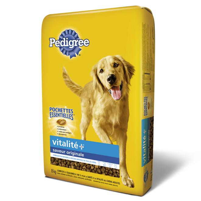 Nourriture sèche pour chien « Vitalité Plus », 8 kg