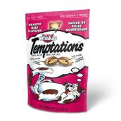 Temptations Cat Treats - Hearty Beef Flavor - 85 g