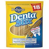 Goûters « Dentastix », soins dentaires pour chien, paquet 18