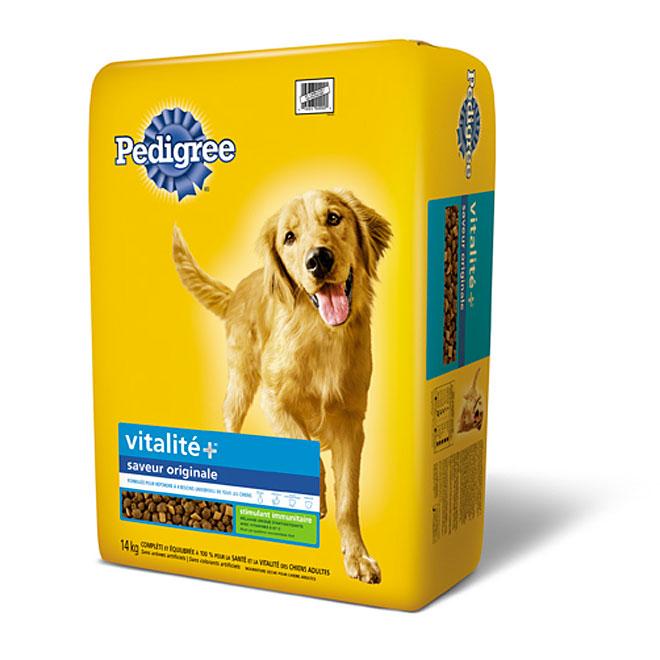 Nourriture pour chien Vitalité+